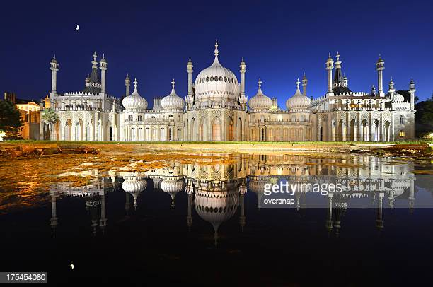 Brighton Pavilion moonlight