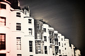 Brighton, England, Day, dark, rough, individuality, city, street, architecture, vintage, old,