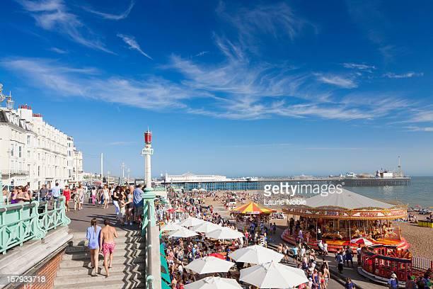 Brighton sea front, Sussex, England