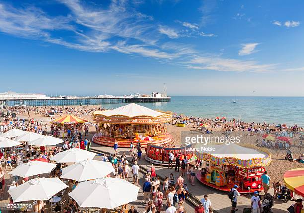 Brighton sea front, Sussex, England