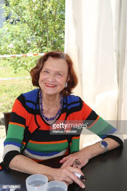Brigitte Antonius poses during the celebration of 2500 episodes of 'Rote Rosen' on June 18 2017 in Lueneburg Germany