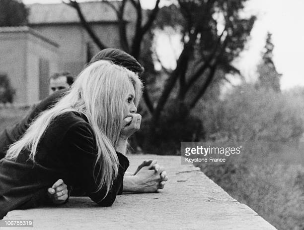 Brigitte Bardot and Gunther Sachs circa mid1960s