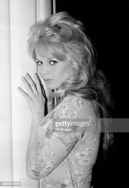 Brigitte Bardot at a London Hotel during a photocall for her latest movie 'Babette Goes to War'