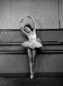 Brigitte Bardot child during dance of Mrs Bourgat Pleyel about 1946