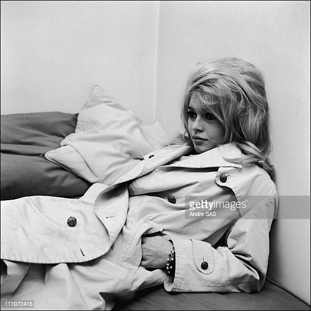Brigitte Bardot in France in January 1963
