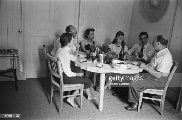 Brigitte bardot son stock photos and pictures getty images for Acheter la maison de ses parents