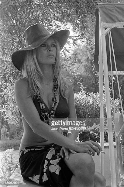 Brigitte Bardot in Saint Tropez France in August 1968French actress Brigitte Bardot in Saint Tropez