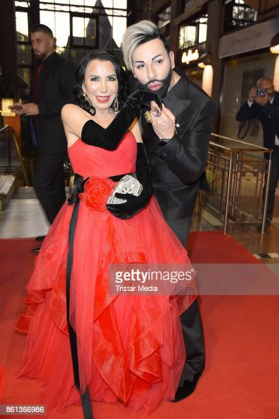 Brigitte Christoph and Harald Gloeoeckler attend the 29 KoelnBall on October 14 2017 in Cologne Germany