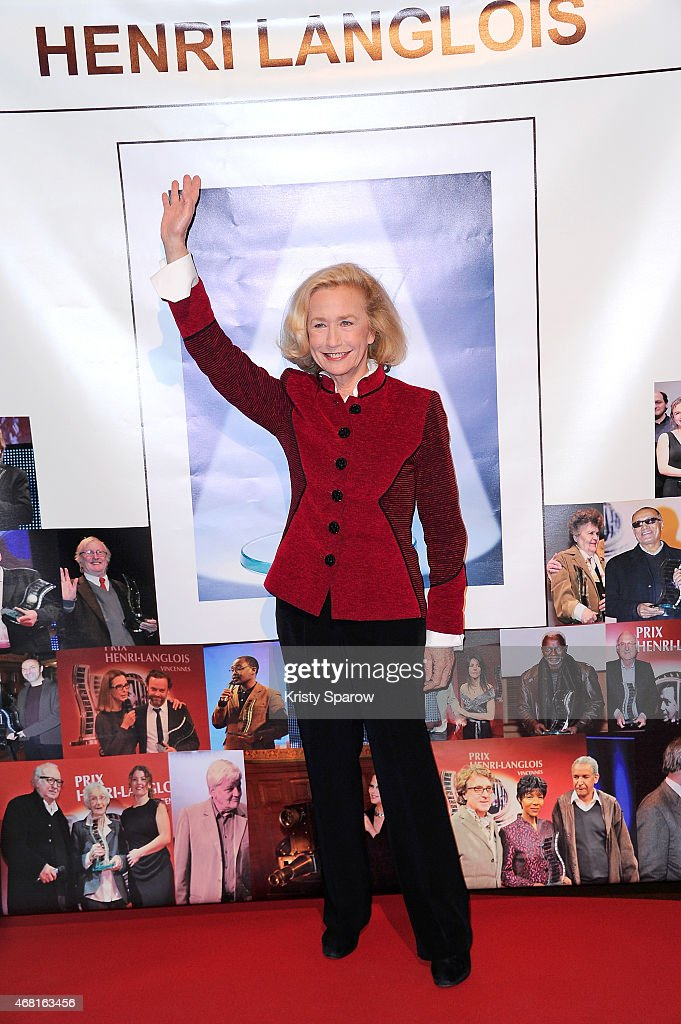 Brigitte Fossey attends the Henri Langlois 10th Annual Award Ceremony at UNESCO on March 30 2015 in Paris France