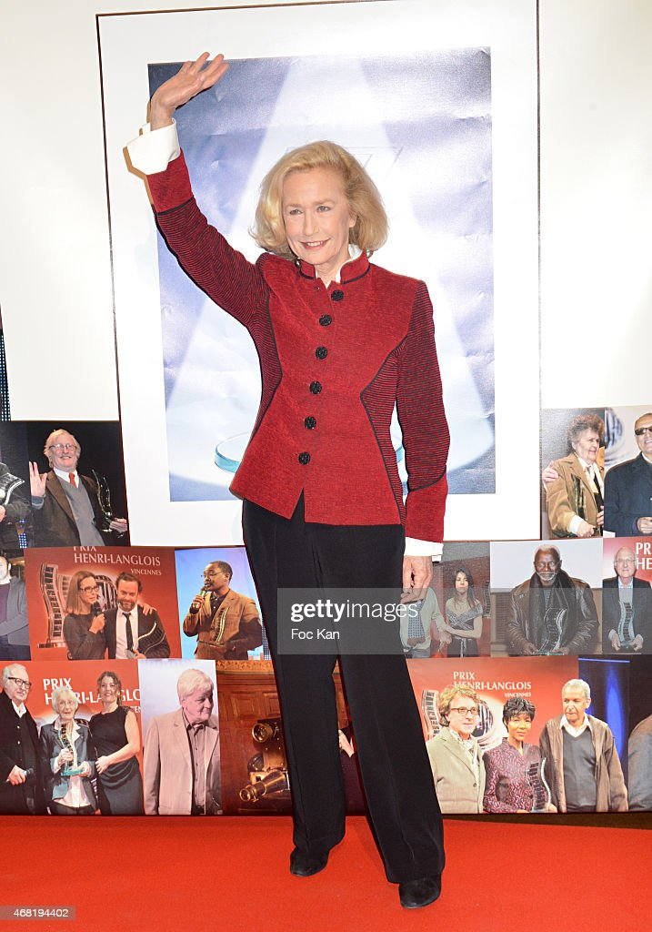 Brigitte Fossey attends the 'Henri Langlois' 10th Award Ceremony At Unesco In Paris on March 30 2015 in Paris France