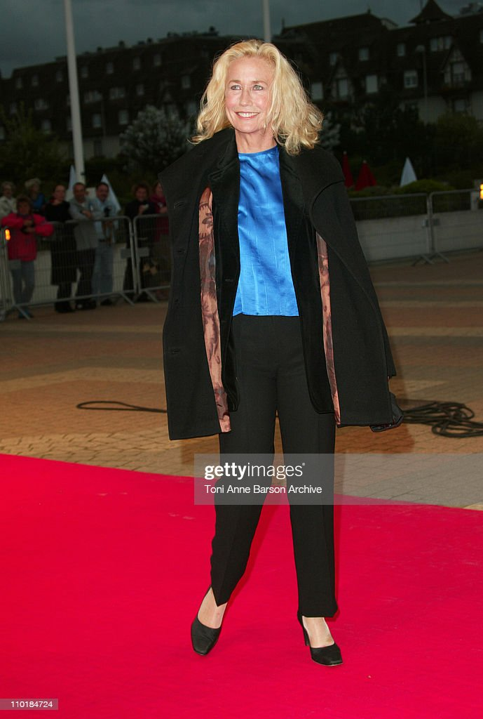 Brigitte Fossey during 2003 Deauville Film Festival Levity Premiere at CID in Deauville France