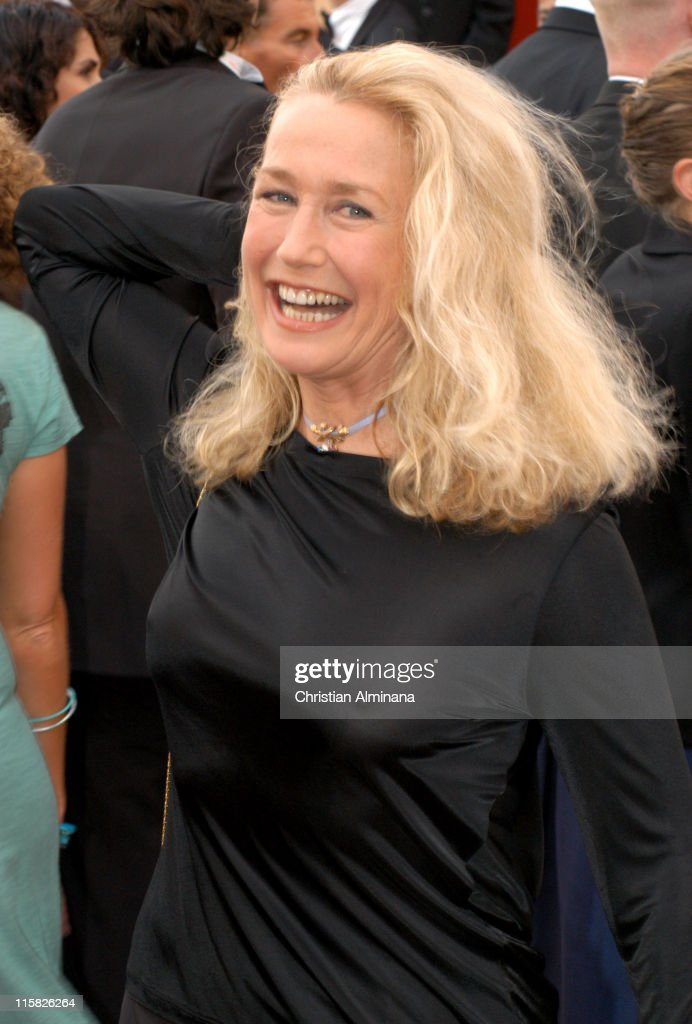 Brigitte Fossey during 2005 Cannes Film Festival 'Broken Flowers' Premiere at Le Palais de Festival in Cannes France