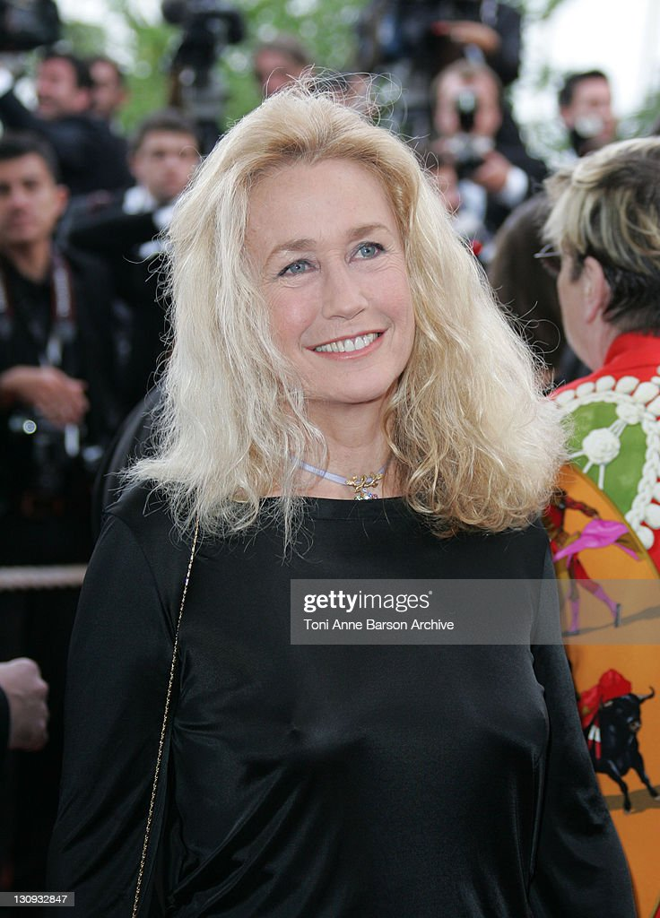 Brigitte Fossey during 2005 Cannes Film Festival 'Broken Flowers' Premiere in Cannes France