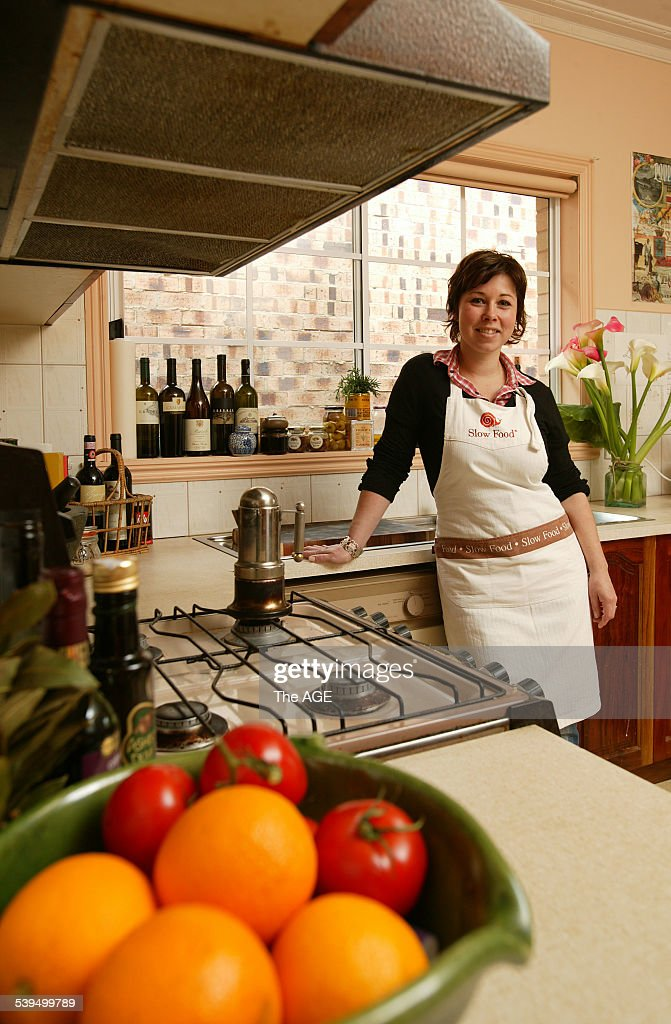 October 2004 From Kitchen Brigitte Hafner in her kitchen at home. Taken 5 October 2004. THE AGE DOMAIN