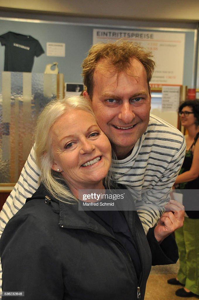 Brigitte Kren (L) and Alexander Jagsch attend the 'Vor der Morgenroete' Vienna Premiere at Gartenbau Kino Vienna on May 31, 2016 in Vienna, Austria.