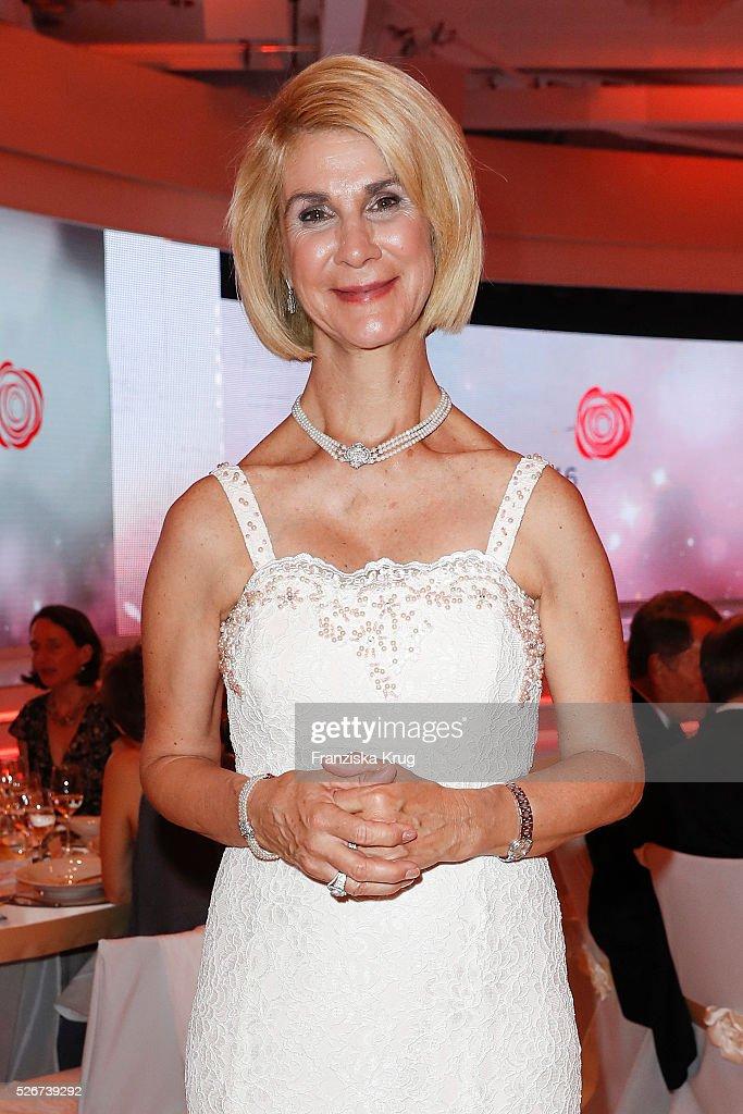 Brigitte Mohn attends the Rosenball 2016 on April 30 in Berlin, Germany.