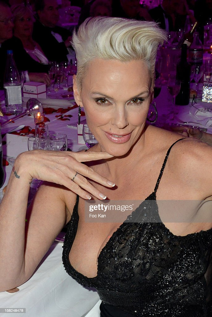 Brigitte Nielsen attends the The Bests Awards 2012 Ceremony at the Salons Hoche on December 11, 2012 in Paris, France.