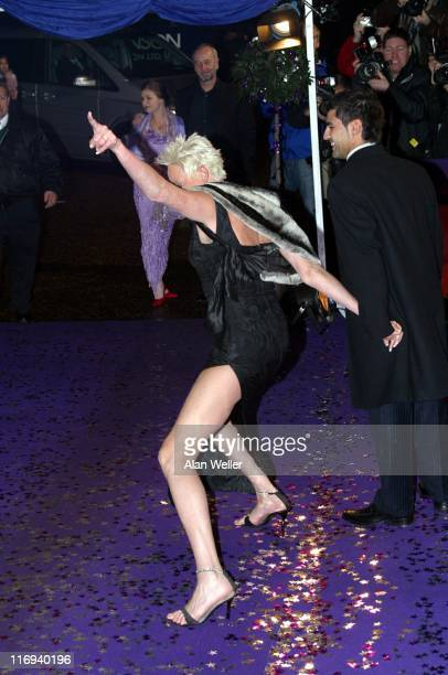 Brigitte Nielsen during British Comedy Awards 2004 Arrivals at LWT Southbank in London Great Britain