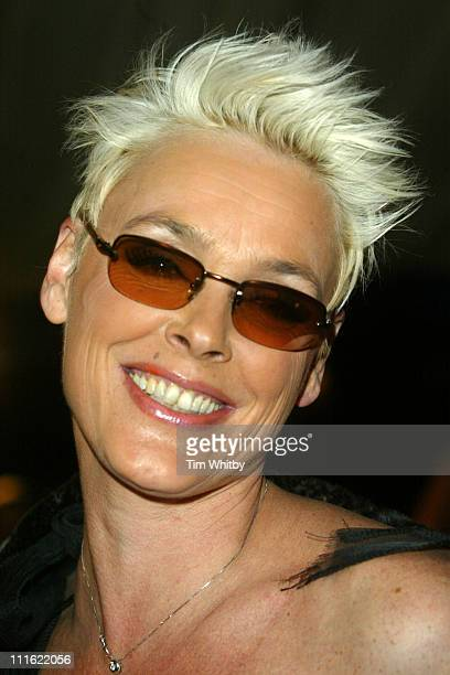 Brigitte Nielsen during The British Comedy Awards 2004 Arrivals at LWT Southbank in London Great Britain