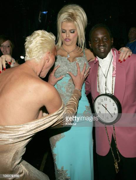 Brigitte Nielsen Flavor Flav and Anna Nicole Smith