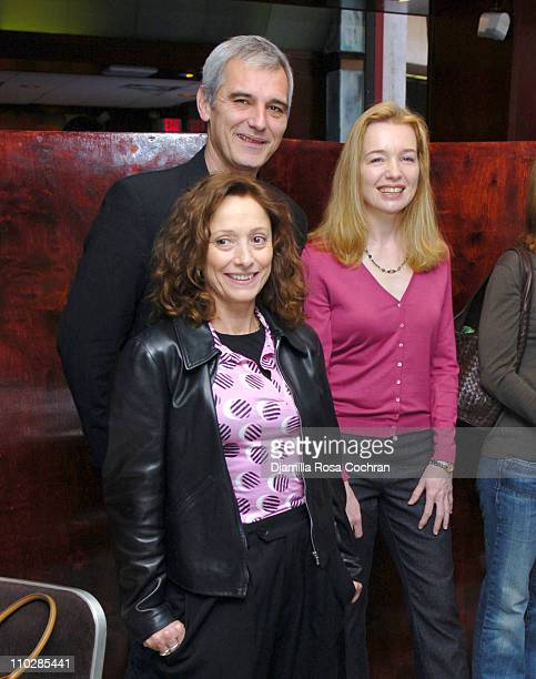 Brigitte Rouan Laurent Cantet and Karen Young during RendezVous with French Cinema 2006 Press Lunch with Nathalie Baye at Josephina in New York New...