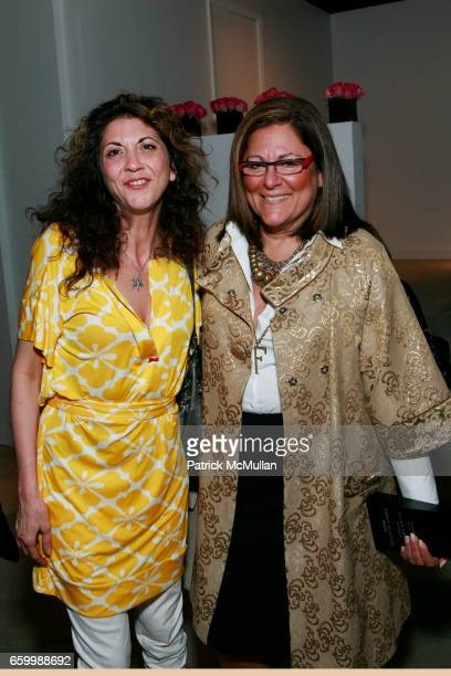 Brigitte Segura and Fern Mallis attend 10th ANNUAL PARSONS FASHION STUDIES LINE DEBUT at Lord Taylor on May 14 2009 in New York City