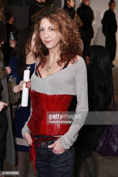 Brigitte Segura attends CATHERINE MALANDRINO Fall 2010 Collection at Chelsea Art Museum on February 14 2010 in New York City