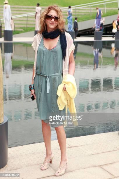 Brigitte Segura attends CATHERINE MALANDRINO Spring 2011 Fashion Show at Hearst Plaza Terrace on September 12 2010 in New York City