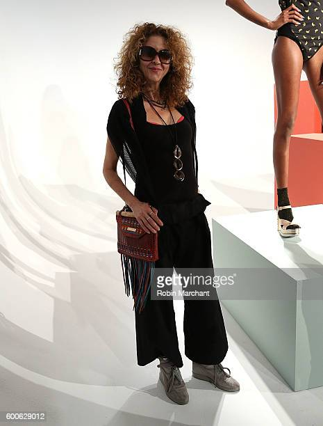 Brigitte Segura attends Michelle Helene presentation September 2016 during New York Fashion Week at Pier 59 Studios on September 7 2016 in New York...