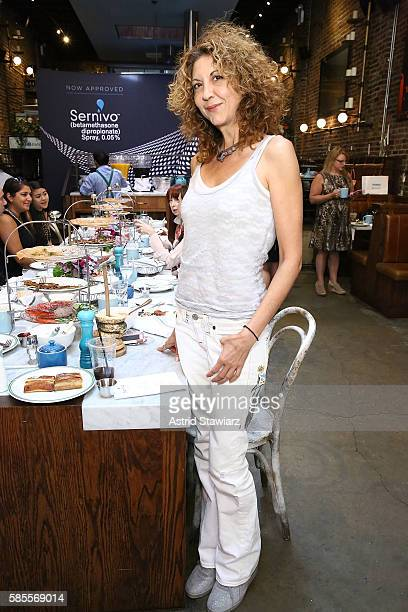 Brigitte Segura attends the Psoriasis Awareness Month Event With Sernivo on August 3 2016 in New York City
