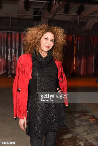 Brigitte Segura attends the Rochambeau show during NYFW Men's at Skylight Clarkson North on February 1 2017 in New York City