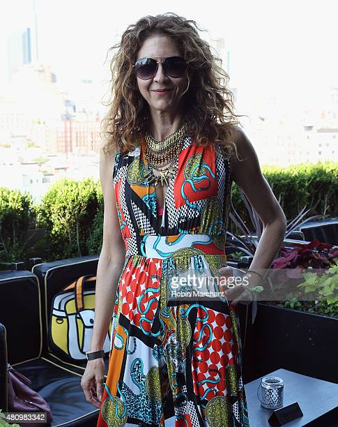 Brigitte Segura attends the Sergio Davila show during New York Fashion Week Men's S/S 2016 at PHD at the Dream Downtown on July 16 2015 in New York...
