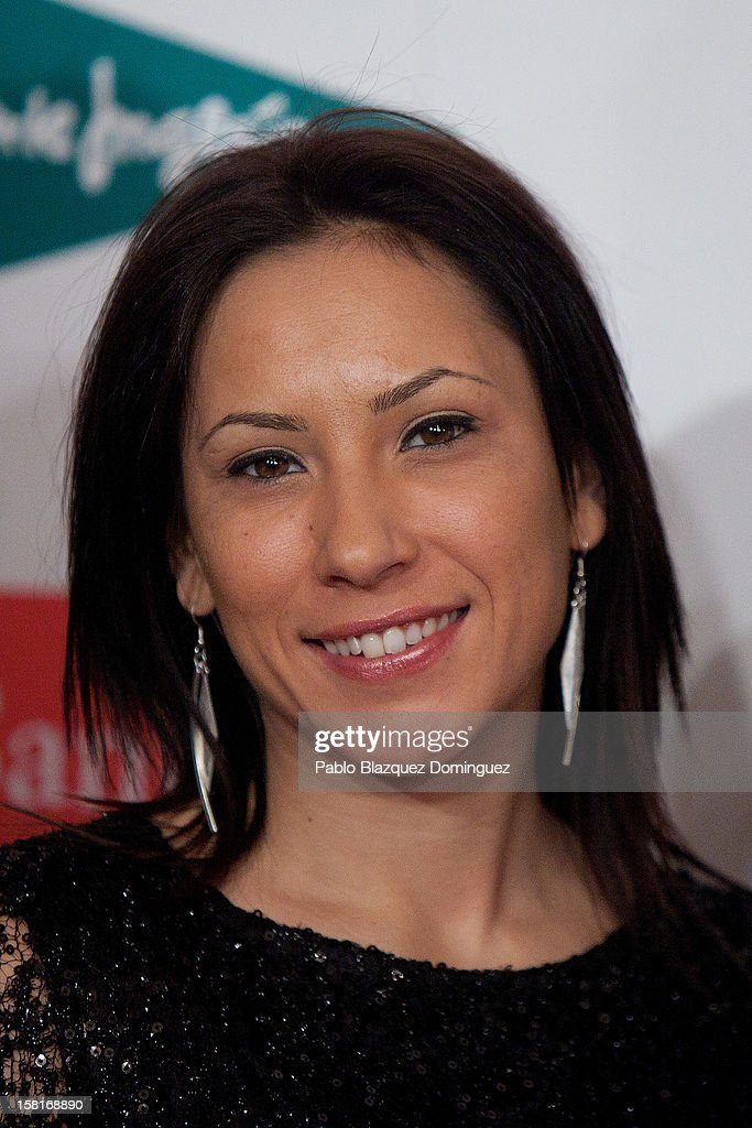 Brigitte Yague attends 'As Del Deporte' Awards 2012 at The Westin Palace Hotel on December 10, 2012 in Madrid, Spain.