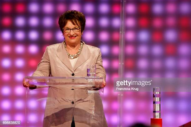 Brigitte Zypries attends the Deutscher Gruenderpreis on June 20 2017 in Berlin Germany