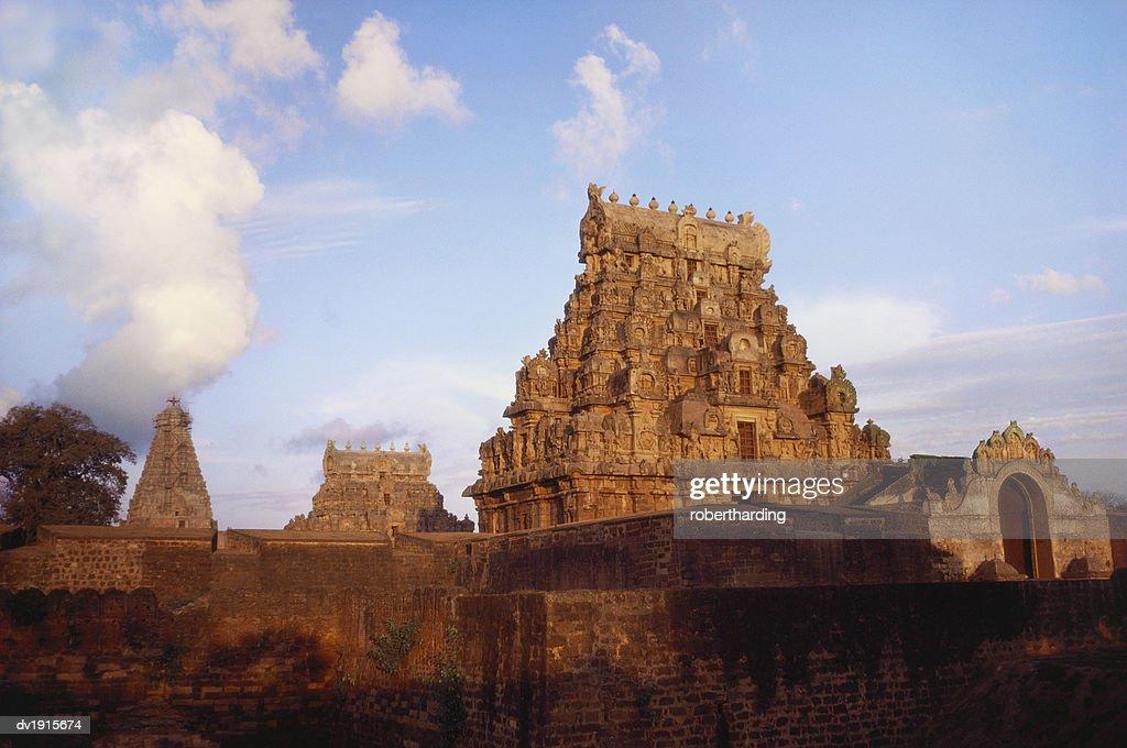 Brihadeshwara Temple, Thanjavur, Tamil Nadu, India : Stock Photo