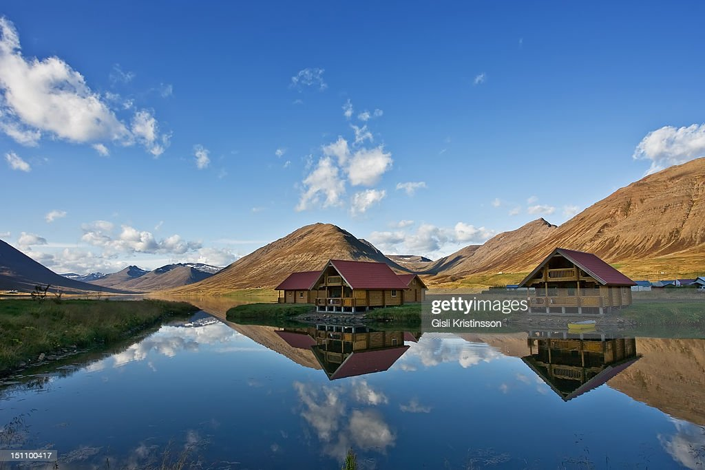 Brimnes Cabins Stock Foto Getty Images