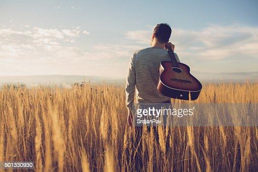 Bringing My Guitar Wherever I Go