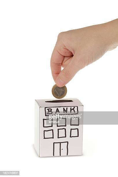 割引をもたらし、銀行