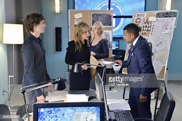AFFAIRS 'Brink of the Clouds' Episode 507 Pictured Christopher Gorham as Auggie Anderson Piper Perabo as Annie Walker Kari Matchett as Joan Campbell...
