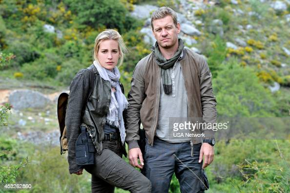 AFFAIRS 'Brink of the Clouds' Episode 507 Pictured Piper Perabo as Annie Walker Nic Bishop as Ryan McQuaid