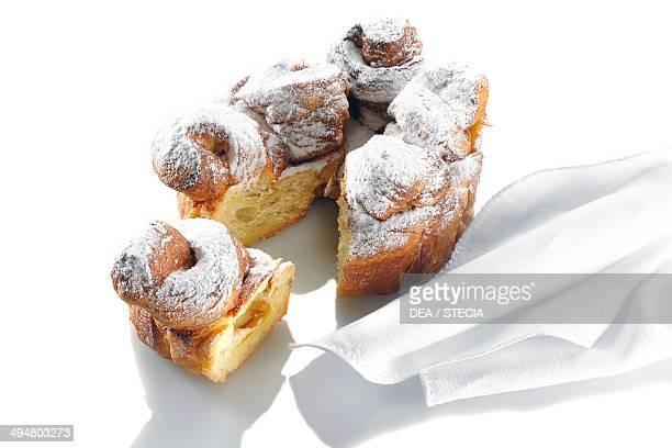 Brioche bread bread made using long rising time