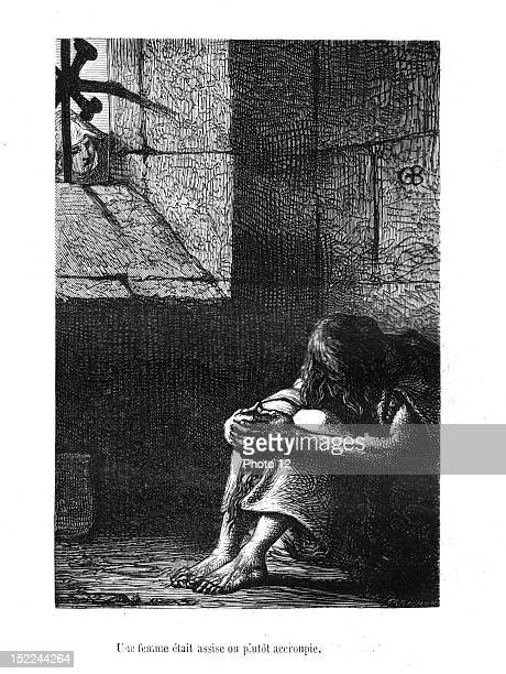 Brion Scene from 'NotreDame de Paris' Published in 1865 Victor Hugo Private collection