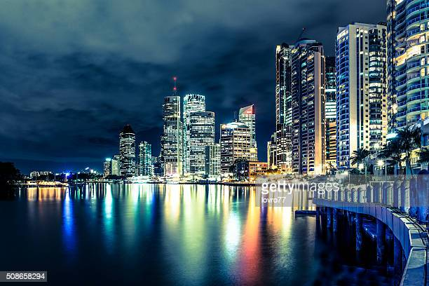 Brisbane at night, Australia