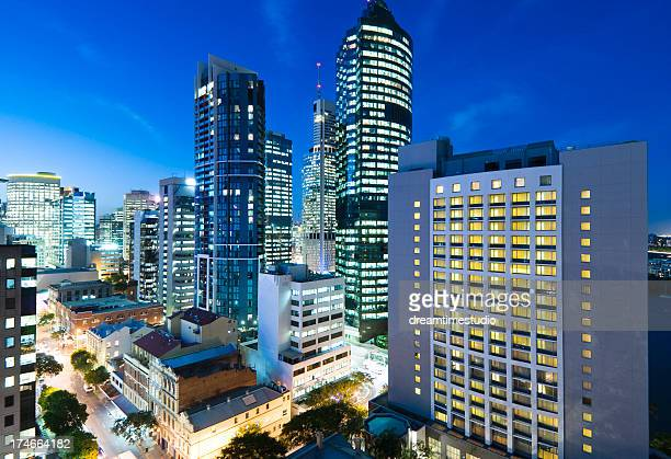 Brisbane CBD City scene