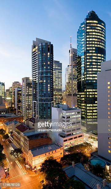 brisbane city cbd downtown
