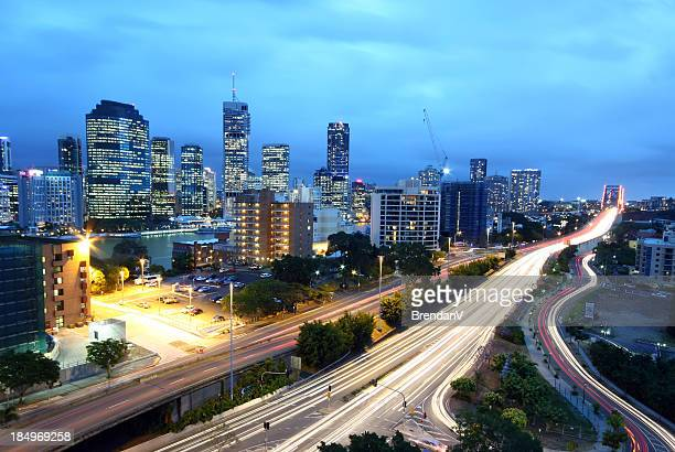 Brisbane City Night Scene