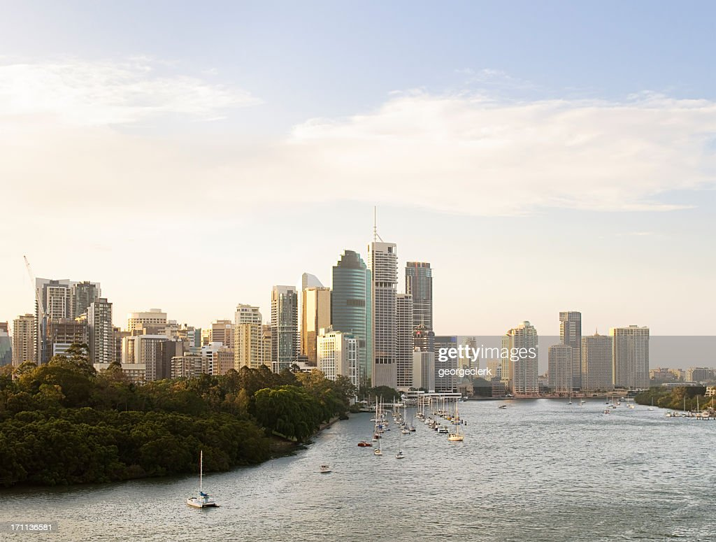 Brisbane Evening Skyline