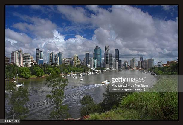 Brisbane, river city
