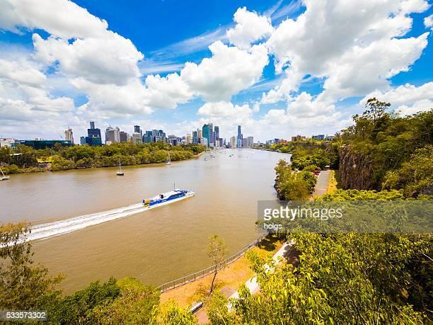 Brisbane River in Australia