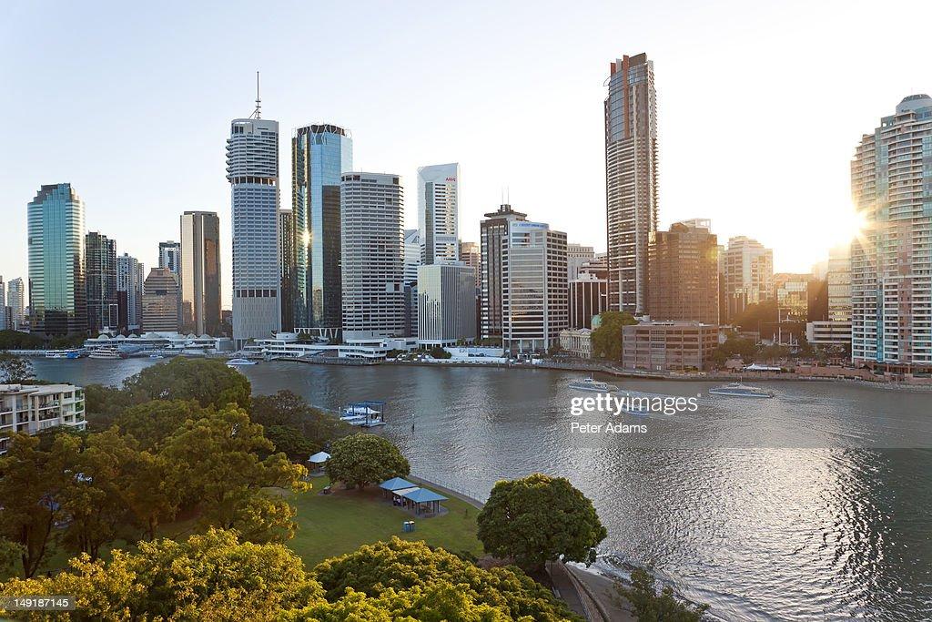 Brisbane Skyline, Queensland, Australia